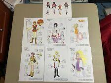 Sakura Taisen Settei Sheets Set 2