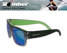 Bomber Floating IRIE Sunglasses Clear Mirror Green Surfing Beach Shades Water