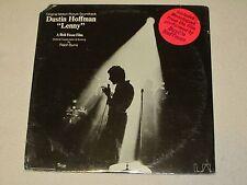 Dustin Hoffman Ralph Burns Lenny Soundtrack 1974 United Artists UA-LA359-H SS LP