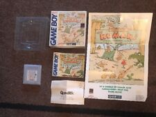 Nintendo Gameboy INTRODUCING... THE HUMANS Complete in Box CIB & POSTER RARE