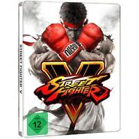 PS4-STREET FIGHTER V  STEELBOOK EDITION  PS4 [DE-VERSION]-PLAYSTATION PLAYS NEU