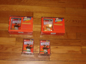 4-1999 Wheaties 75 Years of Champions 24K Gold Signature Mini Box TIGER WOODS