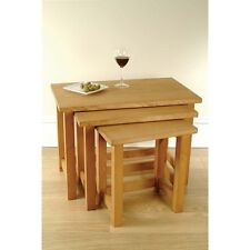 Devon Waxed Pine Furniture Nest of 3 Tables