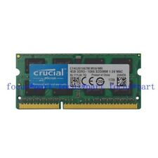 Crucial 4GB PC3-8500 DDR3-1066MHz  SODIMM 204pin Laptop Memory RAM NOTEBOOK MAC