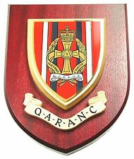 QARANC QUEEN ALEXANDRA ARMY NURSING CORPS REGIMENT MESS PLAQUE