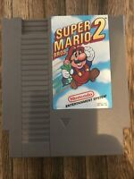 Nintendo NES Super Mario Bros. 2 Video Game Cartridge *Authentic/Cleaned/Tested*