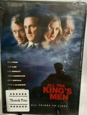 All The King's Men Dvd, Sean Penn, Jude Law, Kate Winslet, James Gandolphin