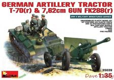 MiniArt 35039 1:35th German artillery tractor T-70 & 7.62cm gun FK288 & Crew
