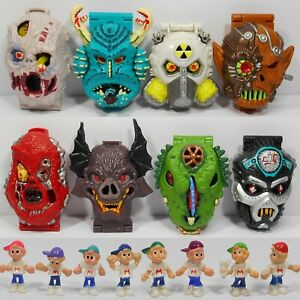Mighty Max. Horror Heads. Series 1. Complete Collection. Bluebird Toys. #2.