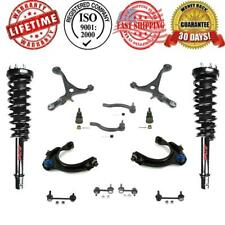 Front Complete Strut & Spring Assembly Quick + Control Arm Chassi Steering Kit
