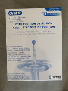 Oral-B Genius Professional Exclusive Bluetooth Rechargeable Toothbrush