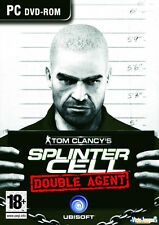 Tom Clancy's Splinter Cell Double Agent (PC CD) Do whatever it takes