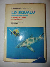 Mare Documentari Scienza Natura,Cousteau: Lo Squalo 1974 Longanesi illustrato