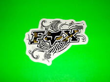 FOX RACING MOTOCROSS ATV QUAD BMX SNOWBOARD SKATEBOARD YELLOW TAHITITAT STICKER