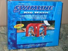 KID WASH ~ INFLATABLE RAFT WITH FOUNTAIN SPOUT ~ POOL HOUSE TOY
