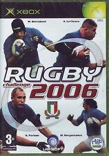 RUGBY CHALLENGE 2006 - XBOX PAL ITA ORIGINALE NUOVO SIGILLATO BRAND NEW