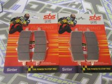 SBS Race Racing Sinter Track Front Brake Pads for Brembo M4 Monoblock Calipers
