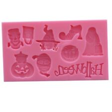 Stampo In Silicone Halloween 9 Impronte