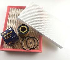 Ölfilter Luftfilter Pollenfilter Fiat Croma 194 1.9 D Multijet 115 PS 120 PS 150