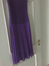 Edles Sommerkleid Bandeau Kleid Faltenrock lila Gr. 40 *Top*