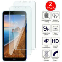For Xiaomi Redmi 7A - HD Clear Tempered Glass Film Screen Protector [2-Pack]