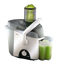 Oster 3167 Powerful 450-Watt 34-Ounce Extra Wide Contertop Juicer, White