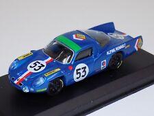 1/43 Top Model Collection Alpine Renault A210 1968 LeMans Car #53.  TMC 263
