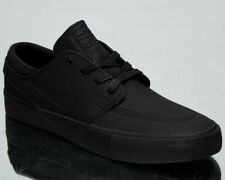 Nike SB Stefan Janoski Zoom RM Premium Men's Black Leather Skate Sneakers Shoes