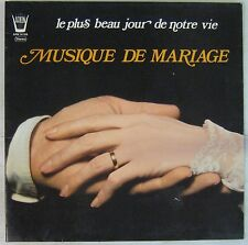 Musique de mariage 33 tours Annie Jodry Georges Delvallée 1976