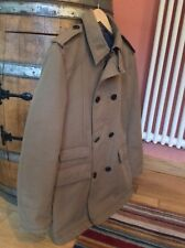 Mens Zara Beige Lined Trench Coat size M (38)