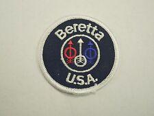 Beretta USA Firearm Manufacturer Iron On Patch
