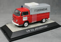Premium ClassiXXs Volkswagen VW T2a Canvas Pickup German Fire Feuerwehr 11354