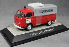 Premium ClassiXXs Volkswagen VW T2a Canvas Pickup German Fire Feuerwehr 11354