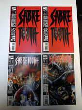 Sabretooth #1 (x2), 2, & 3 - Marvel Comics, Texeira, 1993, X-Men, Wolverine