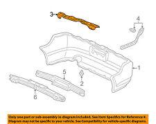 Acura HONDA OEM 05-06 RSX REAR BUMPER-Upper Reinforcement Left 71591S6M010