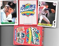 MAJOR LEAGUE ALL-STARS BASEBALL PLAYING CARDS 1991