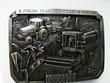 Vintage 1985 Caseih Limited Edition Belt Buckle. First Produced Uner New Caseih