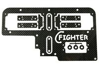 Radioplatte für 2 Servos REELY Carbon Fighter Breaker HD Tuning  !