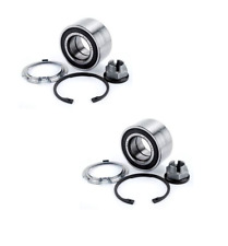 FOR NISSAN MICRA K12 2003-2010 + NOTE 2006-2014 FRONT 2 WHEEL BEARING KIT NEW
