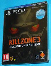 Killzone 3 III - Collector's Edition - Sony Playstation 3 PS3 - PAL Steelbook