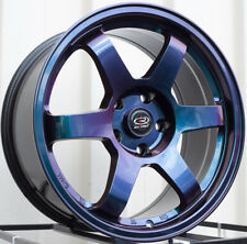 One 17x8 Rota GRID 5x114.3 +35 Chameleon Wheel