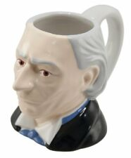 William Hartnell - The 1st Doctor Who - 3D Ceramic 'Toby' Style Collectors Mug