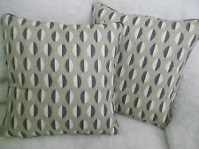"""ECLIPSE  BY ARTHUR SANDERSON 1 PAIR OF 18"""" CUSHION COVERS - DOUBLE SIDED!"""