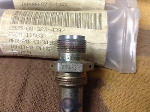 LOT 9+1 ea GAS TURBINE ENGINE SPARK IGNITER P/N 6877518  CAGE CODE 63005