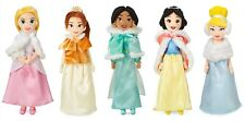 Disney Snow White Cinderella Belle Rapunzel Winter Cape Plush Doll Set -You Pick