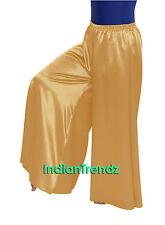 Satin Palazzo Pant Belly Dancing Costume Casual Wear Harem Yoga Women Trousers