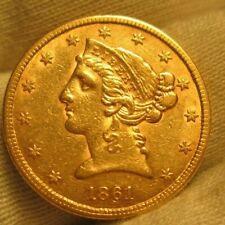 1861 Half Eagle