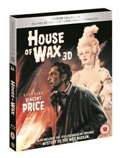 BLU-RAY   HOUSE OF WAX 3D    PREMIUM EXCLUSIVE EDITION NEW SEALED UK STOCK