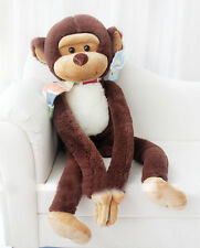 Long Arm Hanging Monkey Plush Coffee Toy Stuff 68CM Animal Doll kid Pillow Gifts