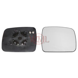 LAND ROVER RANGE ROVER SPORT 2010>13 DOOR MIRROR GLASS SILVER,HEATED &BASE,RIGHT